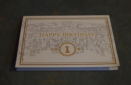 Specially Designed Birthday Card
