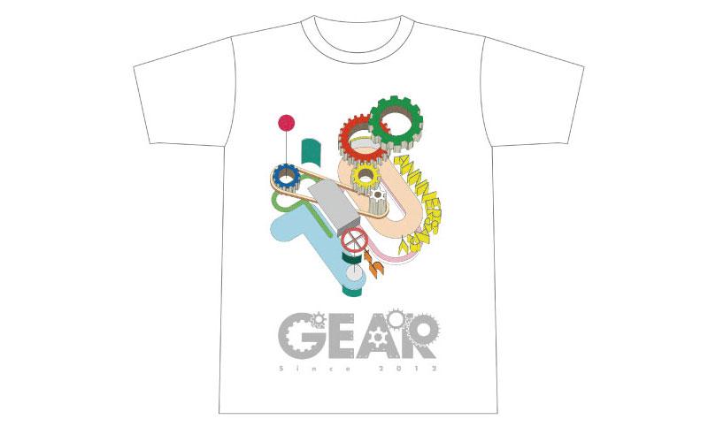 GEARの10周年記念グッズ